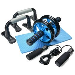3-In-1 AB Wheel Roller Kit - Odoland AB Roller Pro with Push