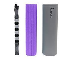 Freory 3-in-1 Foam Roller for Trigger Points. High-Medium De