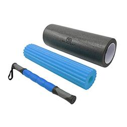 3 in 1 Massage Roller Kit for Sore, Stiff Muscles - Trigger