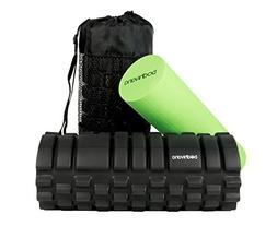 Bodhivana 2-in-1 Therapy Massage Foam Rollers for Muscles wi