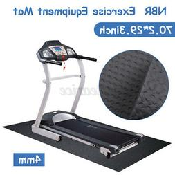 180*75cm NBR Exercise Mat Gym Go Fit Treadmill Equipment Bik