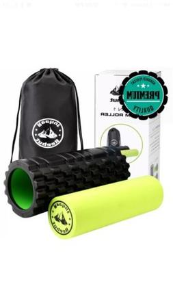 REEHUT 2-in-1 Foam Roller Trigger Point massage for Painful