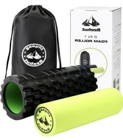 2 in 1 foam roller with carry