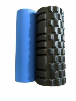 2-in-1 Tribe Fitness GRID Foam Roller Removable Inner Core