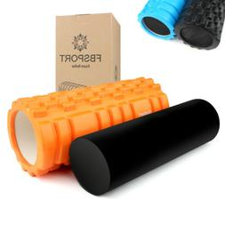 2in1 Extra Firm High Density Foam Roller Muscle Back Pain Tr