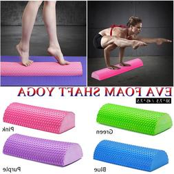 30-45cm EVA <font><b>Foam</b></font> Yoga Roll Semi-circular