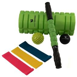 8 In 1 Foam Roller Kit/Set, Muscle Roller Stick, Massage Bal