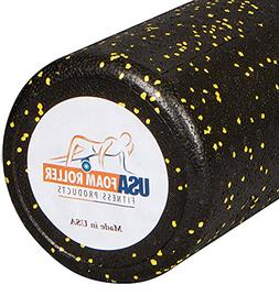 USA Foam Roller, Extra Firm High Density Foam Rollers for Ex