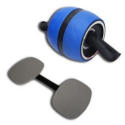 KnK Fitness AB Roller Wheel with Knee Mats - Perfect AB Carv