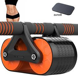 PAQI AB Roller Wheel Muscle Roller Ab Exercise Equipment for