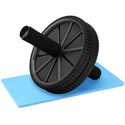 REEHUT Ab Roller Wheels with Knee Pad - The Exercise Wheels