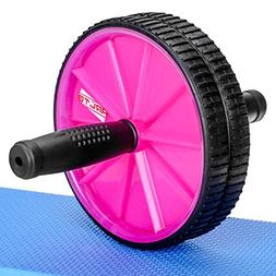 Arltb Ab Wheel Roller  with Free Knee Mat and Anti-Slip Hand