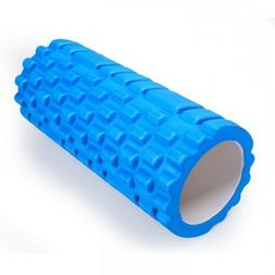 Adeco Blue Exercise & Fitness Foam Roller - 13 X 5.5 Inch Di