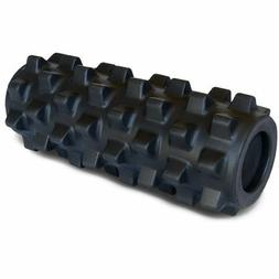 """COMPACT RUMBLEROLLER EXTRA FIRM 12"""" X 5"""" BLACK"""