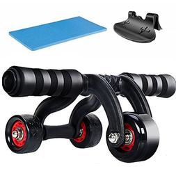 EAMIX Core Fitness AB Roller Pro Wheel Home Workout Machine