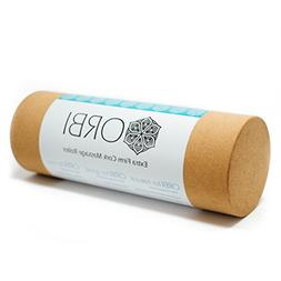 100% NATURAL CORK Foam Roller for Physical Therapy & Exercis