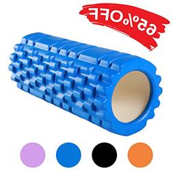MEROUS High Density Foam Roller,Deep Tissue Massager for Pai