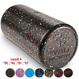 Day 1 Fitness High Density Muscle Foam Rollers by Sports Mas