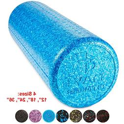 High Density Muscle Foam Rollers by Day 1 Fitness - Sports M