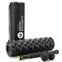 Easthills Fitness 4-In-1 Foam Roller Kit Recovery Muscle Bun