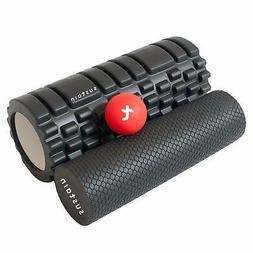 Eco-Friendly Trigger Point Foam Roller Set. High Density Rol