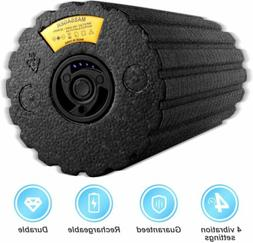 Electric Foam Roller with 4 Speed - High Intensity Vibration