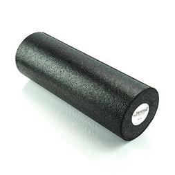 AEROMATS Elite High Density Foam Roller in Black