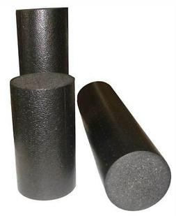 Elite High Density Foam Roller in Black