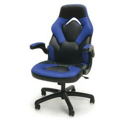 Essentials Racing Style Leather Gaming Chair - Ergonomic Swi