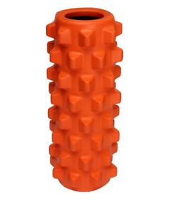 Adahill 30x15cm EVA Grid Foam Massage Roller Yoga Pilates Fi