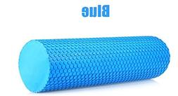 Adahill 30x10 3.93 Inches EVA Yoga Foam Roller Pilates Fitne