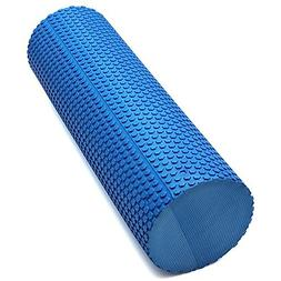 45x15cm EVA Yoga Pilates Home Gym Foam Roller Massage Trigge