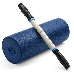 Exercise Foam Roller - Professional Grade, High Density Inco