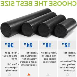 Extra Firm Exercise Gym Yoga Foam Roller Message Muscle Back
