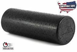 Extra Firm Foam Roller High Density Yoga Back Pain Massage H