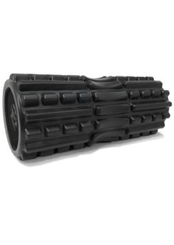 extra firm foam roller with spinal chanel