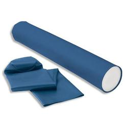 Foam Roller Cover - Blue Vinyl