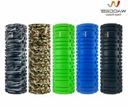 Wacces Foam Roller Deep Muscle Tissue Massage Fitness Gym Yo