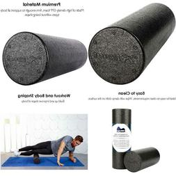 Reehut Foam Roller  - Firm High-Density Muscle Rollers For