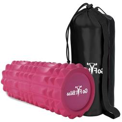 Foam Roller-High Density & Trigger Points for Deep Muscle ma