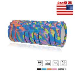 Foam Roller High Density Massage Muscle Therapy Exercise Gym