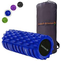Foam Roller Massager for Trigger Point Therapy by SmarterLif