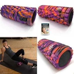 321 STRONG Foam Roller MEDIUM Density Deep Tissue Massager M