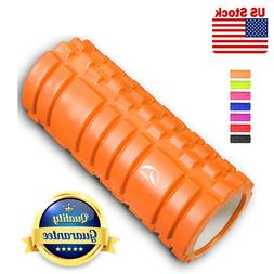 Foam Roller Muscle Tissue Deep Massage Point Fitness Gym Yog