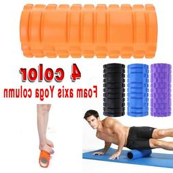 Yoga Foam Roller Injury Physio Gym Muscle Exercise Trigger P