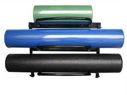 Foam Roller Rack in Black