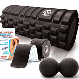 321 STRONG Foam Roller Stealth Recovery Combo Kit - Includes