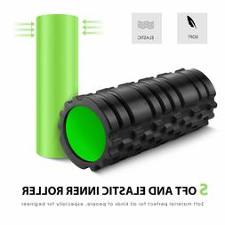 Foam Rollers 2-in-1 Deep Tissue Massage  Muscles Relaxation