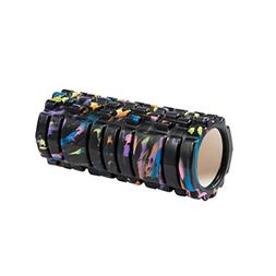 ROSENICE Grid Foam Roller Camouflage Muscle Massage Therapy
