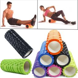 Grid Foam Roller Yoga Gym Pilates Massage EVA Physio Back Ex